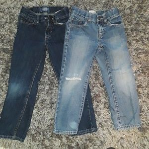 2 pair of Boys Jeans size 5